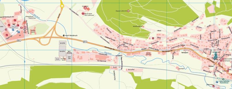 Ortsplan erstellen Vektor